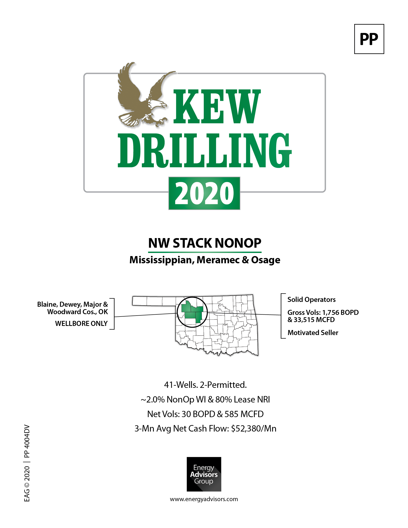 OKLAHOMA STACK WI & NEW DRILLING